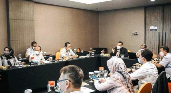 Pertemuan Koordinasi Pemutakhiran Data Peserta PBI JK dan PBPU Pemda Karawang