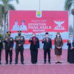 Bupati Cellica Pimpin Upacara Peringatan Hari Kesaktian Pancasila 2021